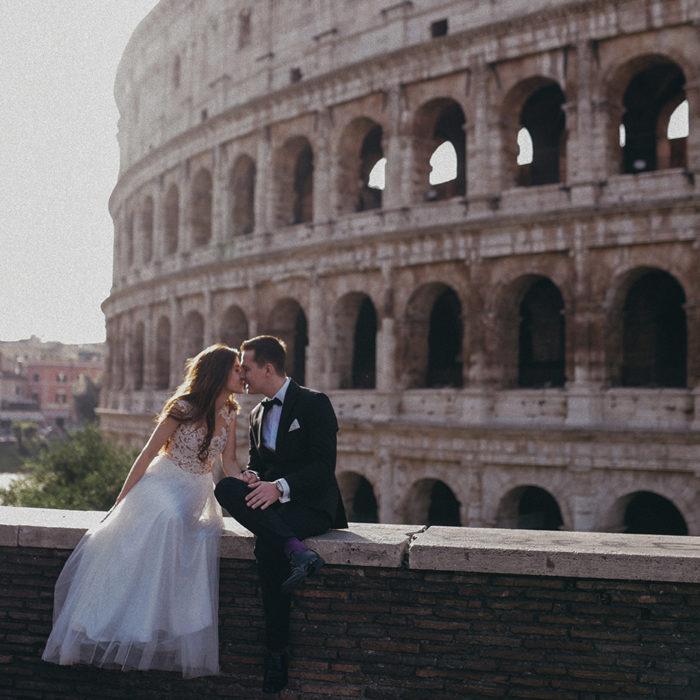 Asia i Sergiy czyli miłość w Rzymie